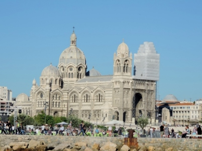 Cathedrale de la Major, Le Panier, Marseilles