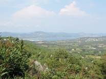 View to the Gulfe-de-St-Tropez from Gassin