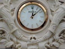 Rolex Clock at Carlton Intercontinenal Hotel