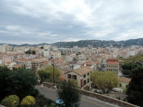 View of Cannes from the Castle