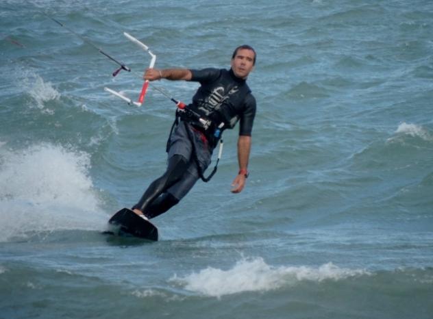 Kite Surfing at Antibes