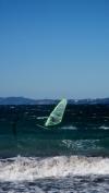 Windsurfing on the western side of Presqu'ile de Giens