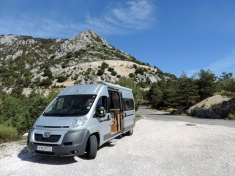 Lunch stop, Rte des Cretes, Gorges du Verdon