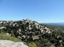 Gordes before being invaded by a tour coach!