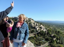 Gordes, after the invasion by tourists