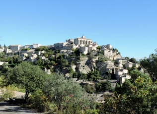 Gordes from our own view!