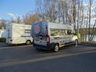 Overnight Aire at St Eloy Les Mines