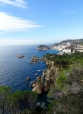 Looking towards Tossa de Mar