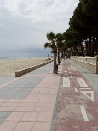 Cycle Path Cambrils