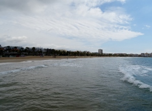 The beach at Salou