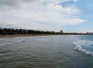 The beach at Salou
