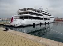 Super Yacht at Puerto Tarracona
