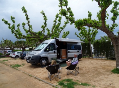 Rain on the horizon, Camping Les Medes