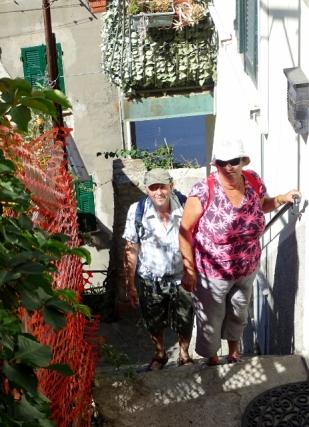 John & Diane in Riomaggiore