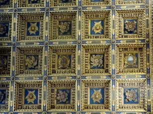 The gold ceiling, Duomo