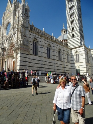 Tony & Rosie & Duomo, Siena