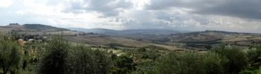 View from Monticchiello