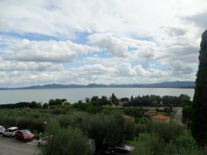 View from Castiglione del Lago