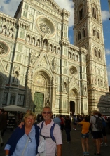 Outside the The Duomo