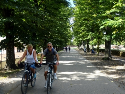 Cycling the City Walls