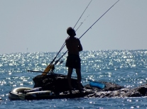 Fisherman at Paraccia
