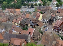 View from the Tower, Kaysersberg