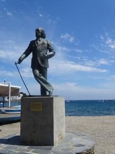 Salvador Dali in Cadaqués