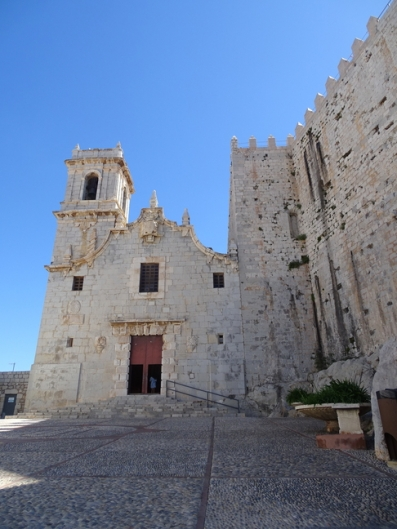 The Church attached to Peñiscola Castle