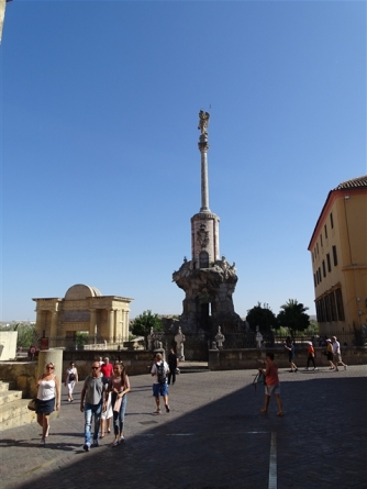 Puente Romano area, Cordoba
