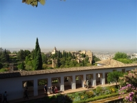 View from General Life, Alhambra Palace