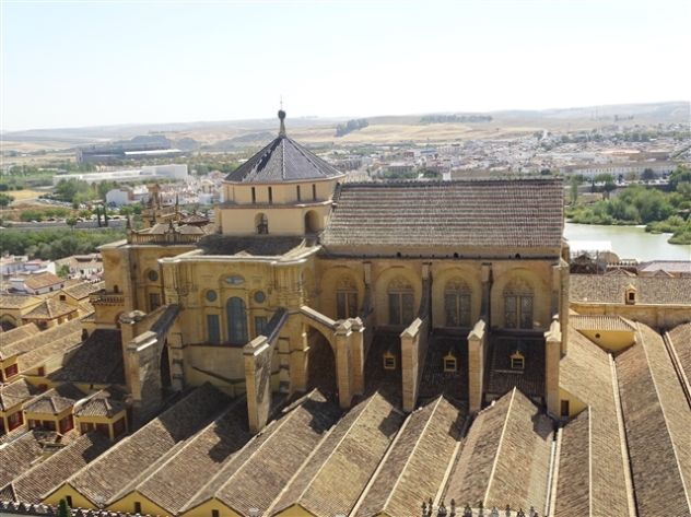 The Mezquita from the Bell Tower