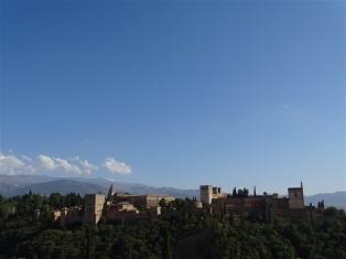 Alhambra Palace from Mirador Saint Nicholas