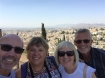 Us, on top of the Alhambra Palace
