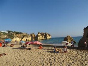 Eastern end of Alvor Beach