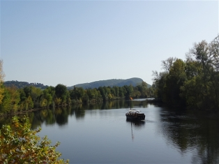 The Dordogne at Beynac-et-Cazenac
