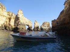 Boat ride to Ponta da Piedade
