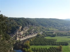 La Roque Gageac from the Belvedere at Marqueyssac