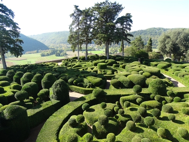 The Gardens at Marqueyssac