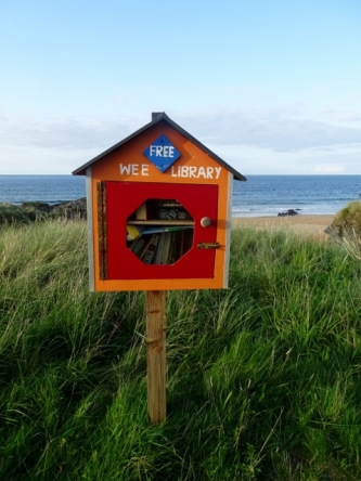 Library at Culdaff Beach, Inishowen Peninsula